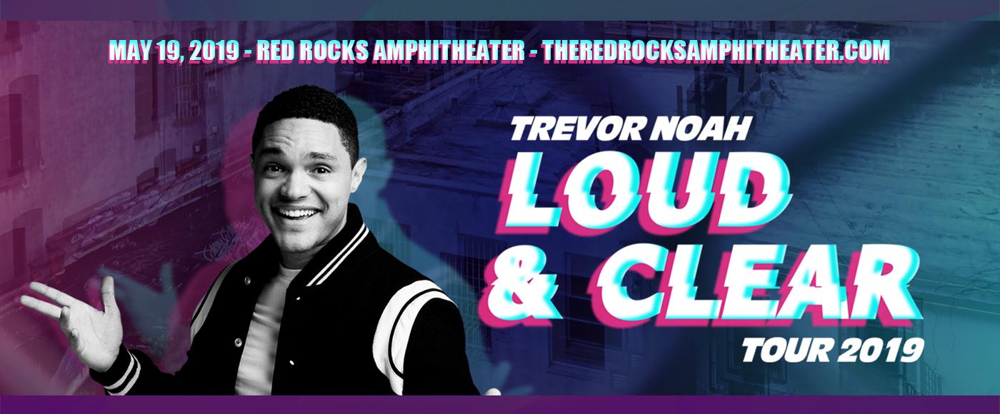 Trevor Noah at Red Rocks Amphitheater