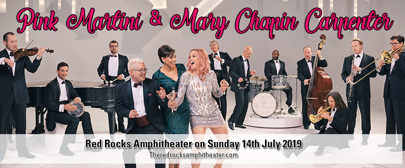Pink Martini & Mary Chapin Carpenter at Red Rocks Amphitheater