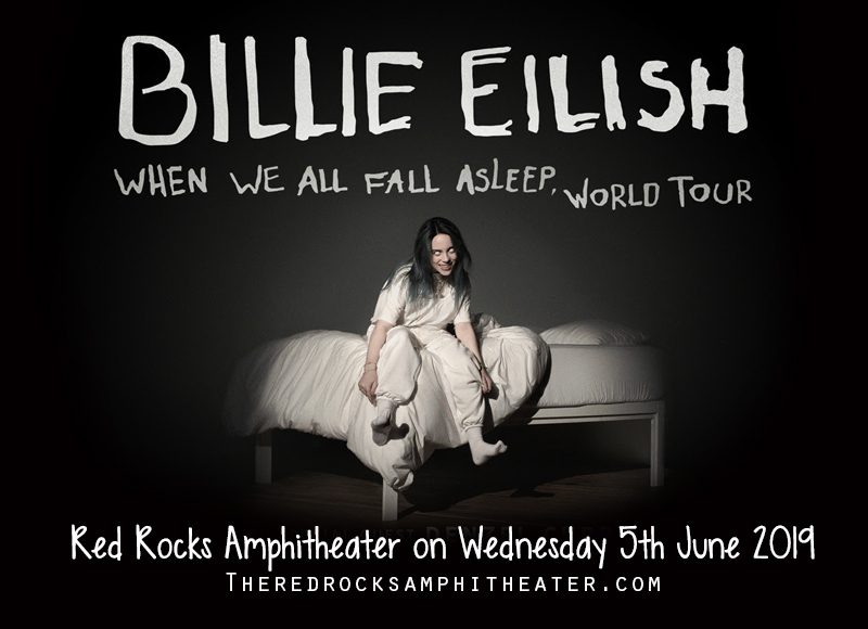 Billie Eilish at Red Rocks Amphitheater