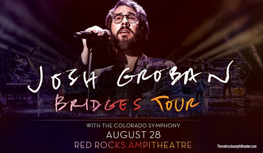 Josh Groban & Colorado Symphony Orchestra at Red Rocks Amphitheater