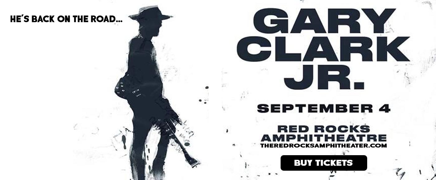 Gary Clark Jr. at Red Rocks Amphitheater