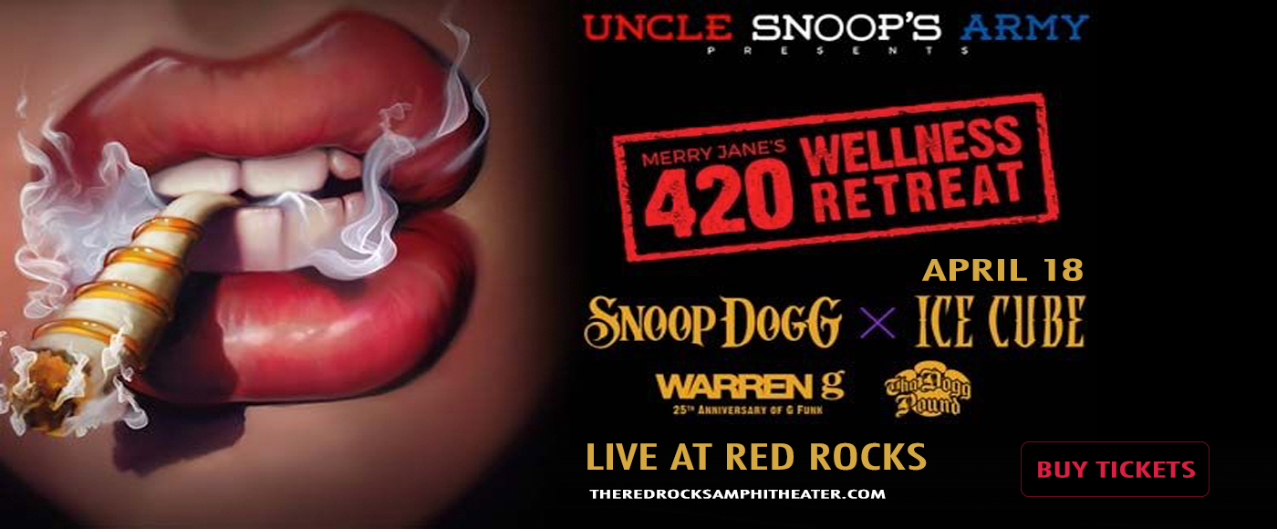 Snoop Dogg & Ice Cube at Red Rocks Amphitheater