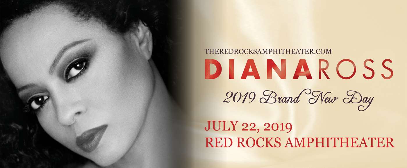 Diana Ross at Red Rocks Amphitheater