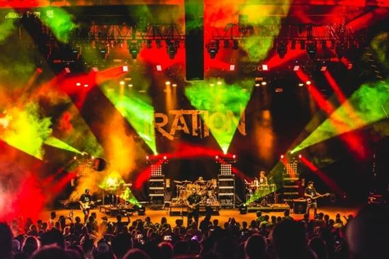 Iration & UB40 at Red Rocks Amphitheater