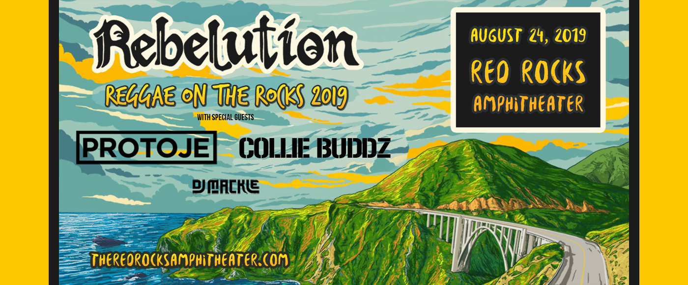 Reggae On The Rocks: Rebelution at Red Rocks Amphitheater