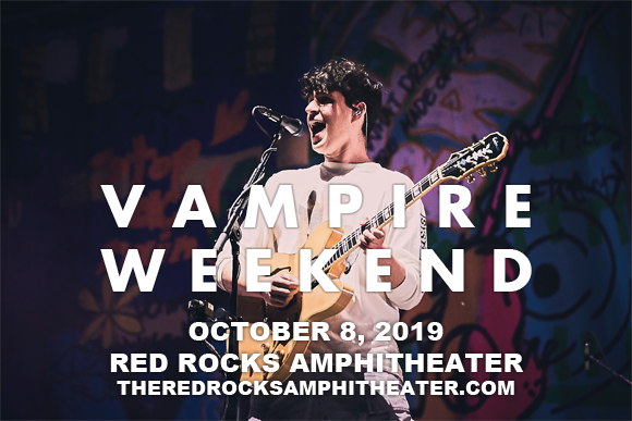 Vampire Weekend at Red Rocks Amphitheater