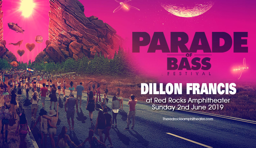 Dillon Francis at Red Rocks Amphitheater