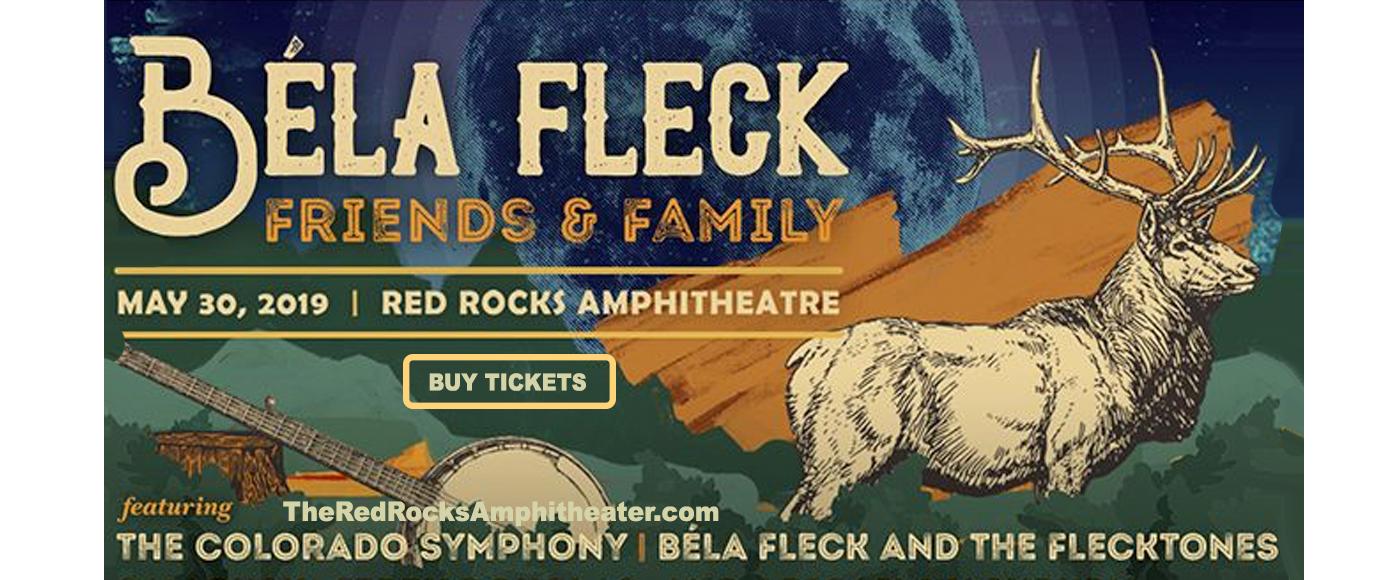 Bela Fleck and The Flecktones, Sam Bush, Jerry Douglas, Abigail Washburn & The Colorado Symphony at Red Rocks Amphitheater