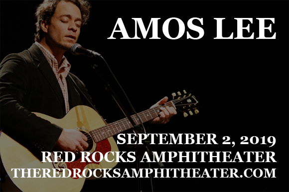 Amos Lee at Red Rocks Amphitheater
