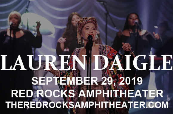 Lauren Daigle at Red Rocks Amphitheater