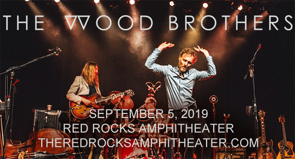 The Wood Brothers at Red Rocks Amphitheater