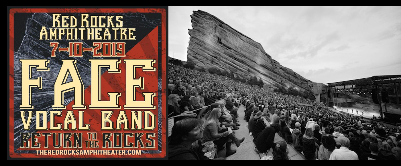Return To The Rocks: Face Vocal Band at Red Rocks Amphitheater