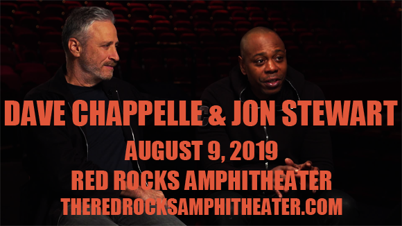 Dave Chappelle & Jon Stewart at Red Rocks Amphitheater