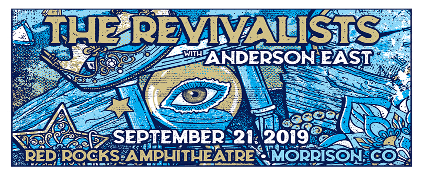 The Revivalists at Red Rocks Amphitheater