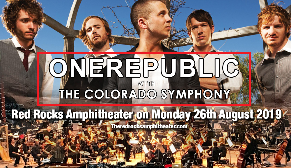 OneRepublic & The Colorado Symphony at Red Rocks Amphitheater