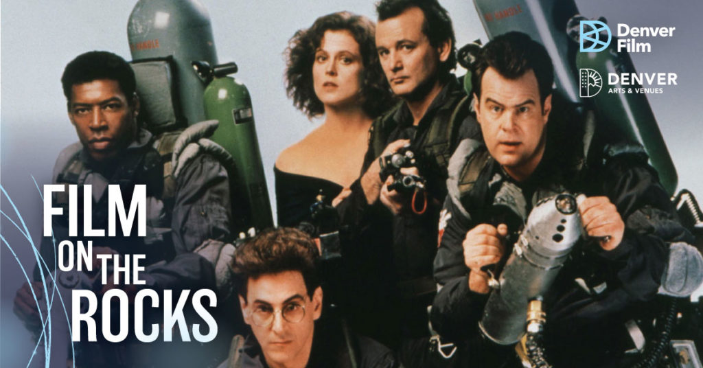Film on the Rocks: Ghostbusters at Red Rocks Amphitheater