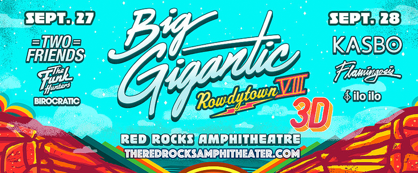 Big Gigantic - Saturday at Red Rocks Amphitheater