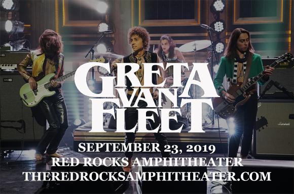 Greta Van Fleet at Red Rocks Amphitheater