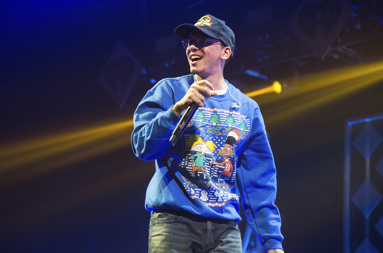 Logic at Red Rocks Amphitheater
