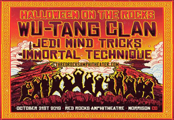 Wu-Tang Clan at Red Rocks Amphitheater