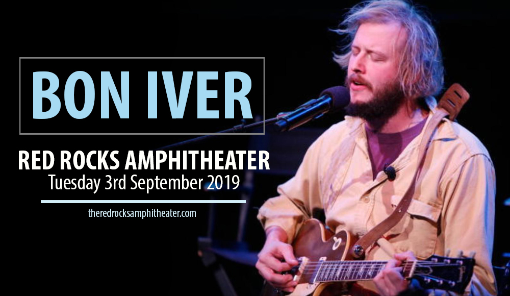 Bon Iver at Red Rocks Amphitheater