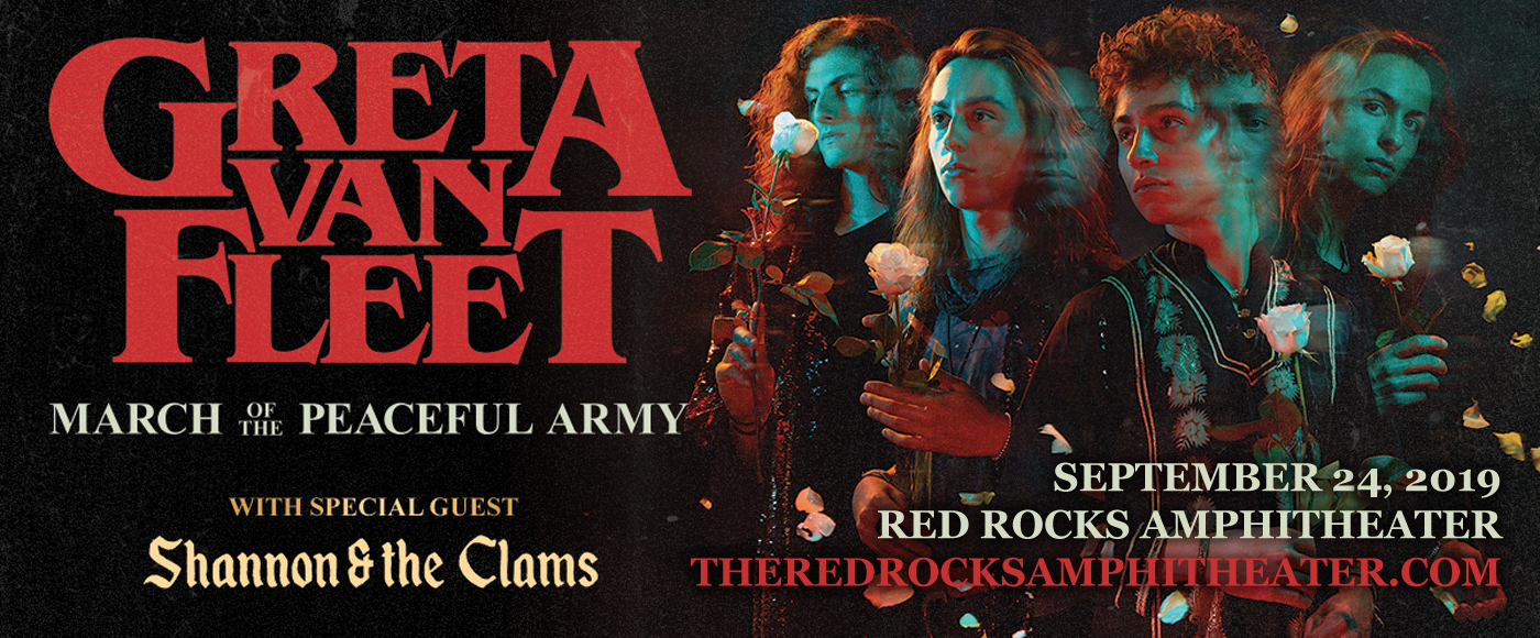 Greta Van Fleet at Red Rocks Amphitheater