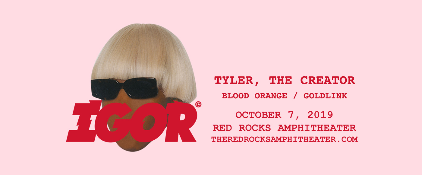 Tyler The Creator at Red Rocks Amphitheater