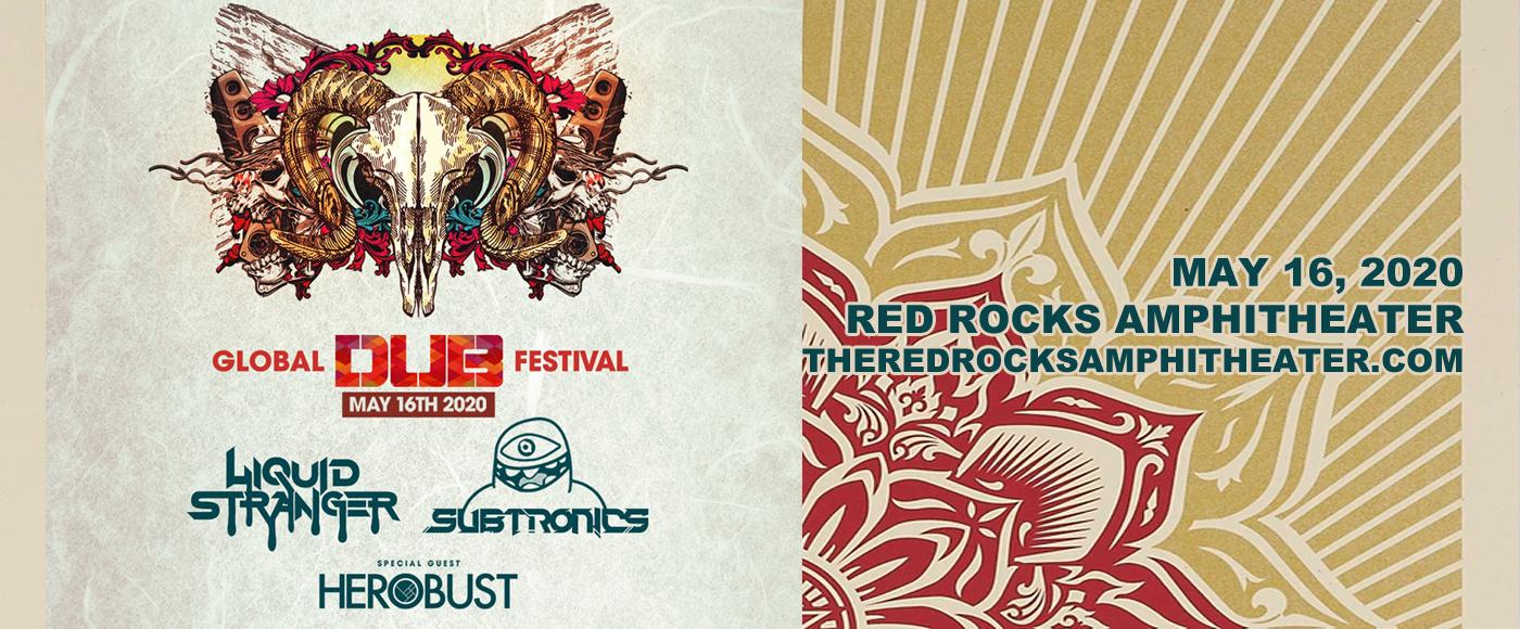 Global Dub Festival: Liquid Stranger, Subtronics & Herobust at Red Rocks Amphitheater