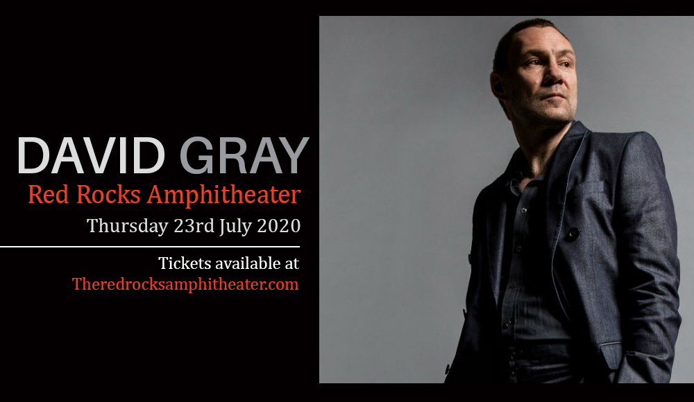 David Gray at Red Rocks Amphitheater