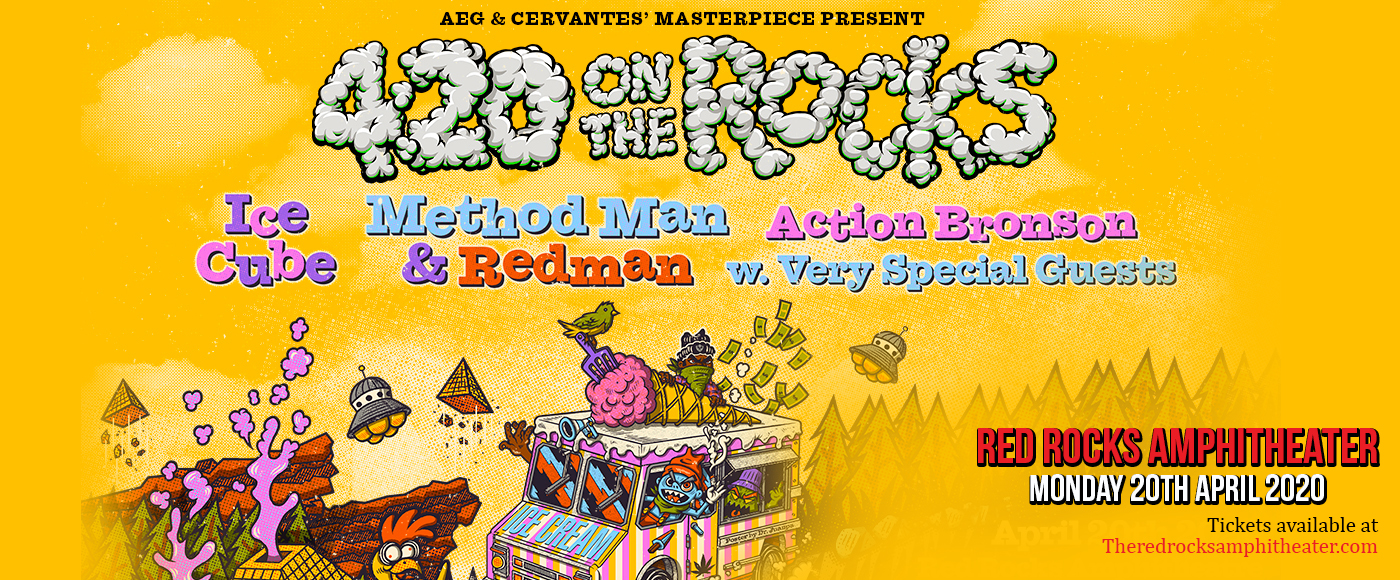 Ice Cube, Method Man, Redman & Action Bronson at Red Rocks Amphitheater