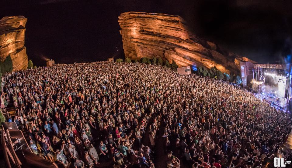 Local Set: New Year's Eve Bash at Red Rocks Amphitheater