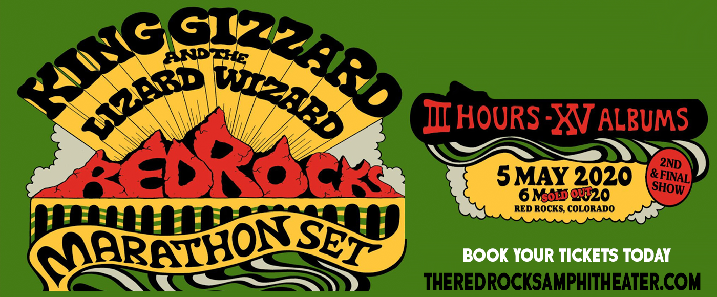 King Gizzard and The Lizard Wizard at Red Rocks Amphitheater