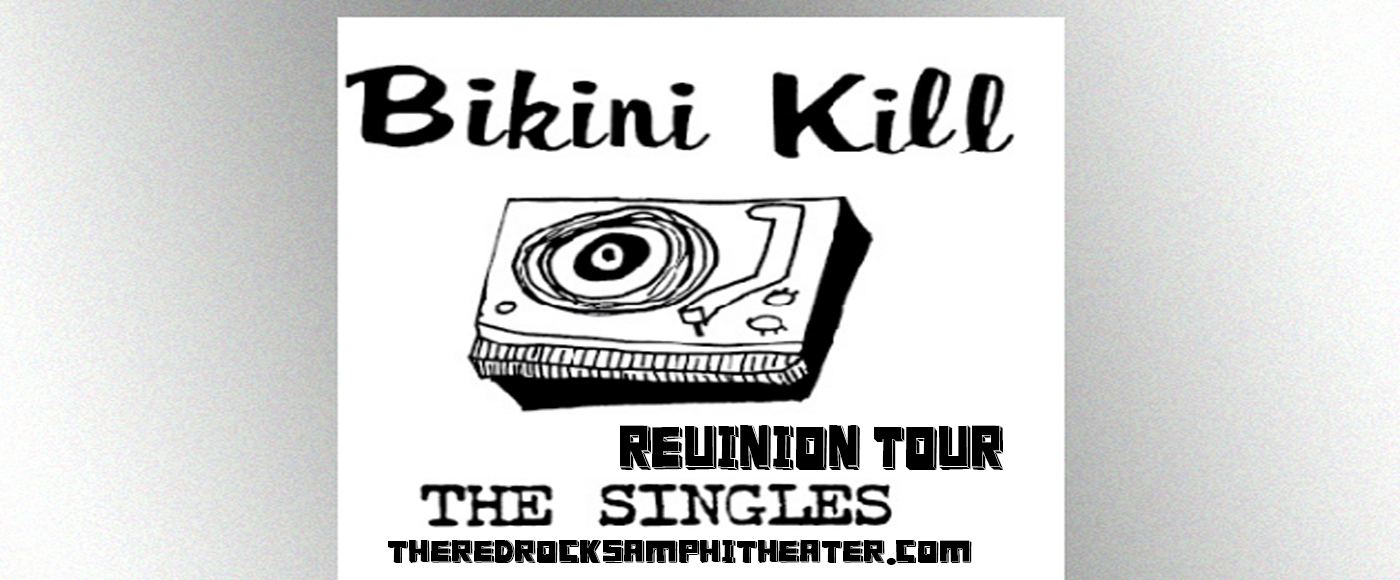 Bikini Kill at Red Rocks Amphitheater