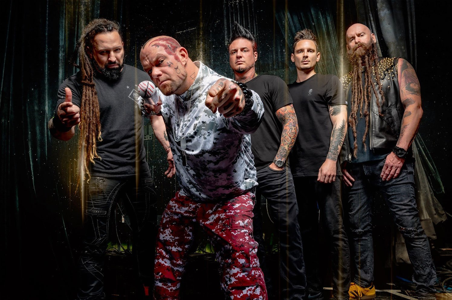 Five Finger Death Punch, Papa Roach, I Prevail & Ice Nine Kills at Red Rocks Amphitheater