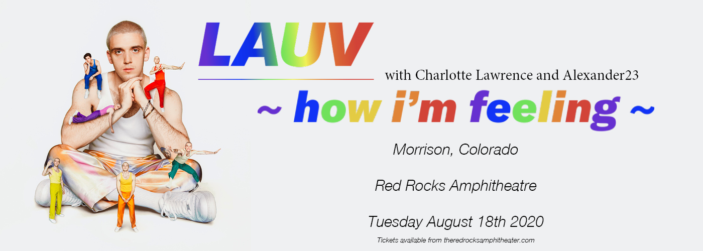 Lauv at Red Rocks Amphitheater