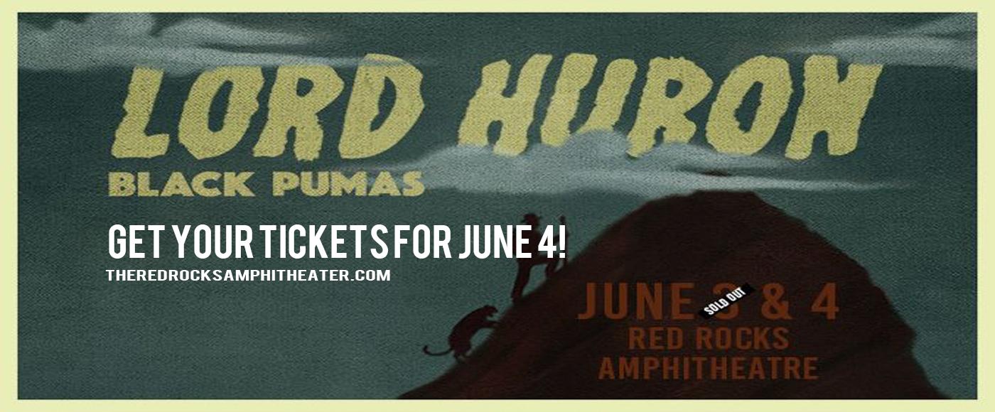 Lord Huron & Black Pumas at Red Rocks Amphitheater