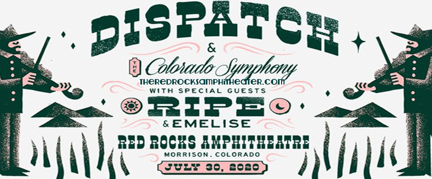 Dispatch & The Colorado Symphony at Red Rocks Amphitheater
