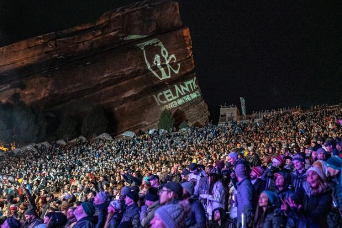 Icelantic's Winter On The Rocks: Zhu, They., SNBRN & Channel Tres at Red Rocks Amphitheater