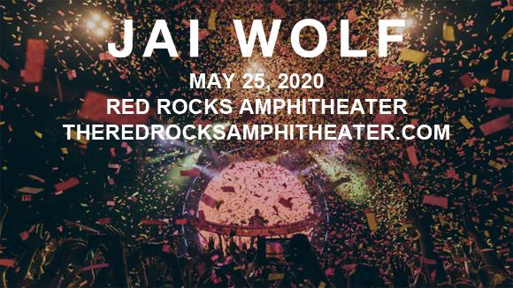 Jai Wolf at Red Rocks Amphitheater