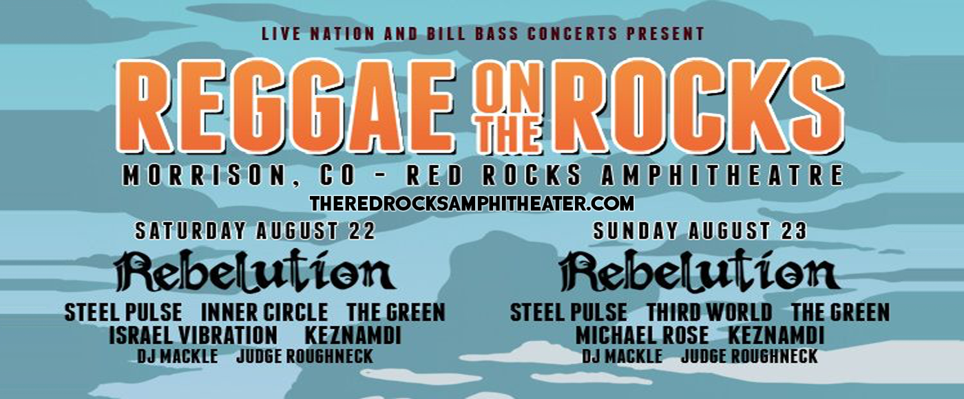 Reggae On The Rocks at Red Rocks Amphitheater