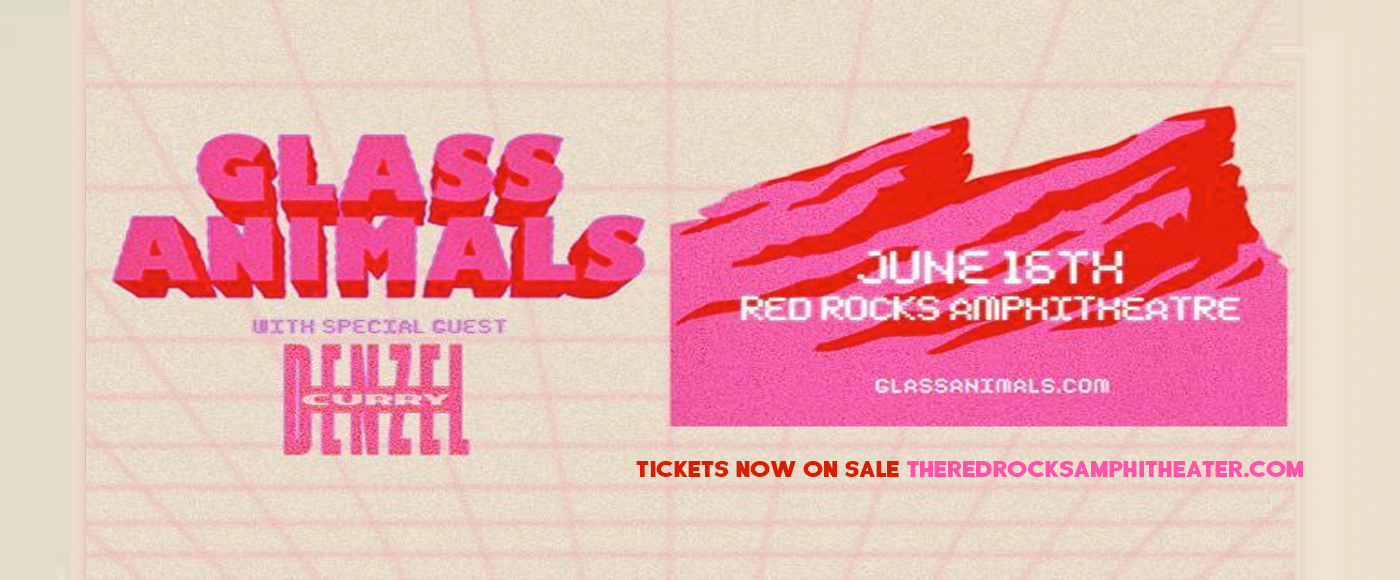 Glass Animals at Red Rocks Amphitheater