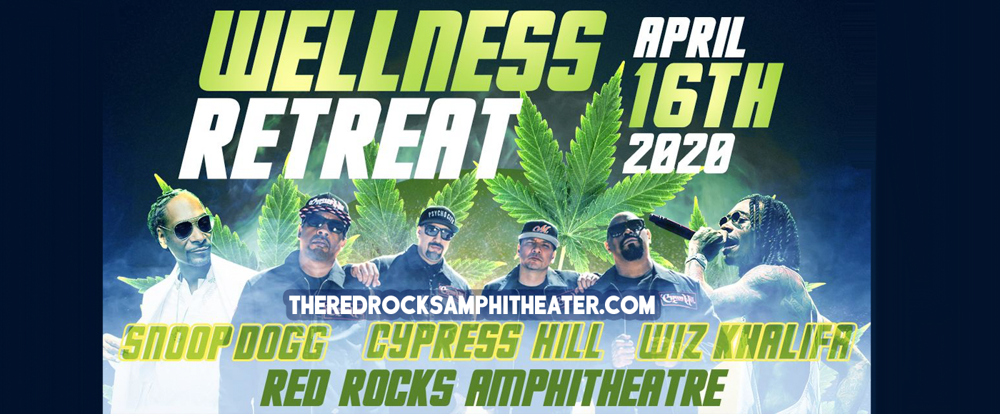 Snoop Dogg, Wiz Khalifa & Cypress Hill at Red Rocks Amphitheater