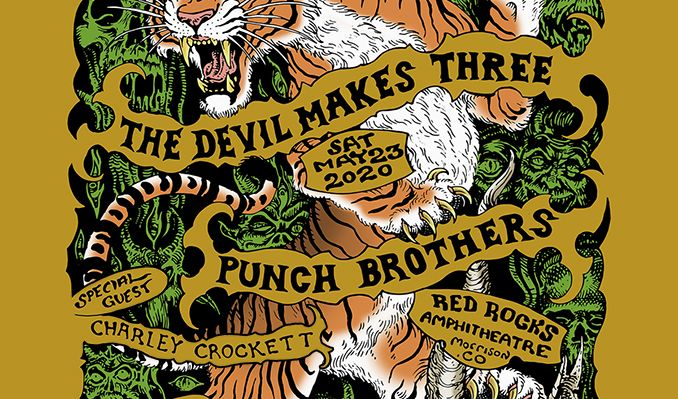The Devil Makes Three & Punch Brothers at Red Rocks Amphitheater