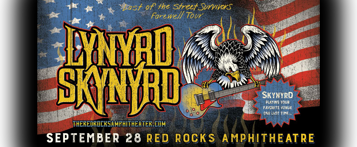 Lynyrd Skynyrd at Red Rocks Amphitheater