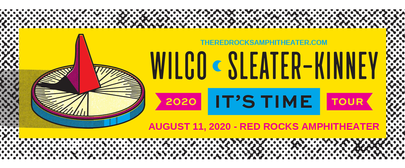 Wilco & Sleater-Kinney at Red Rocks Amphitheater