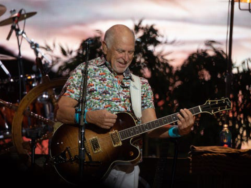 Jimmy Buffett and The Coral Reefer Band at Red Rocks Amphitheater
