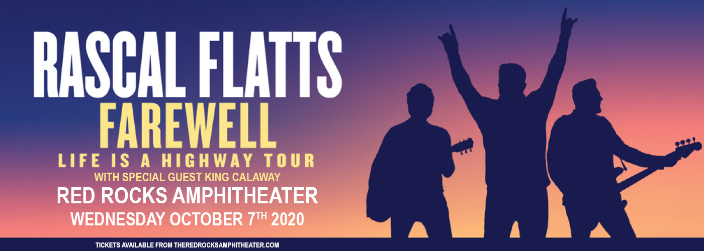 Rascal Flatts [CANCELLED] at Red Rocks Amphitheater