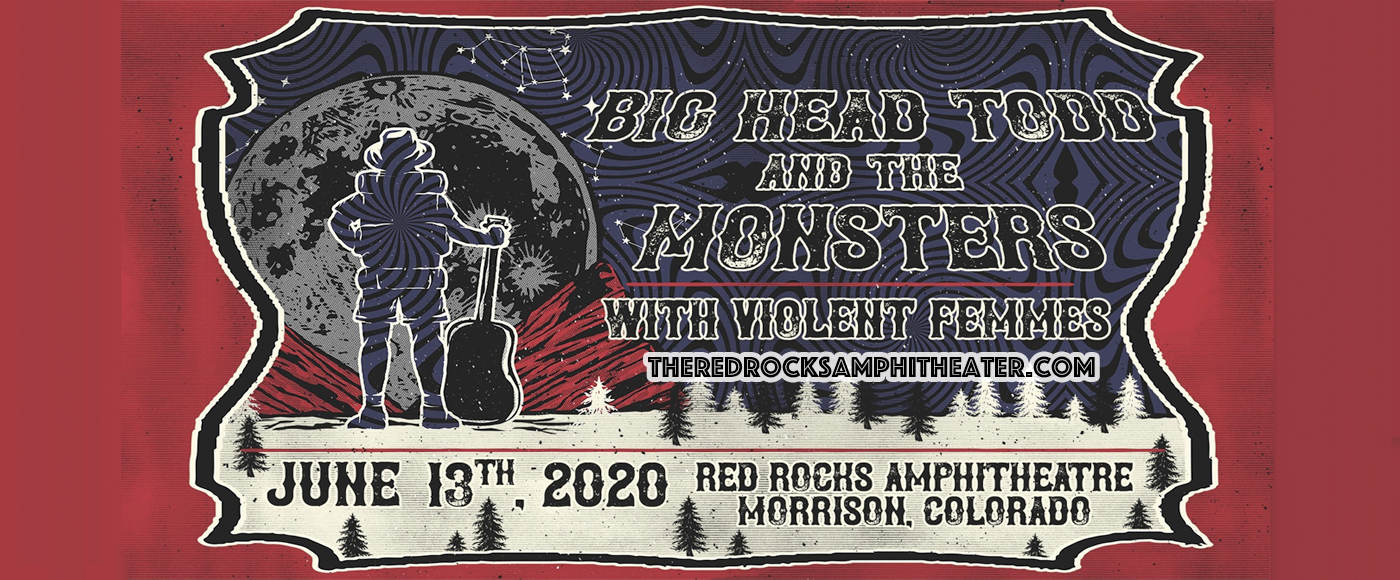 Big Head Todd and The Monsters & Violent Femmes at Red Rocks Amphitheater