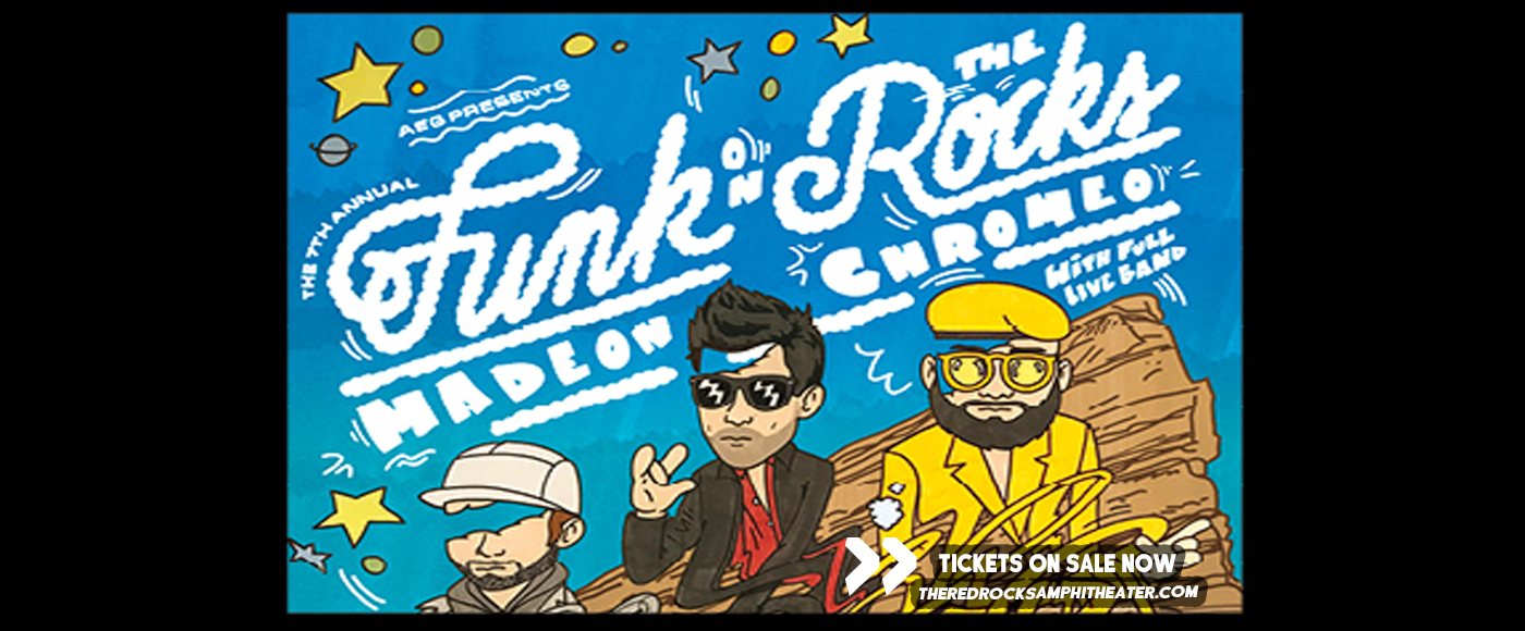 Chromeo & Madeon [CANCELLED] at Red Rocks Amphitheater