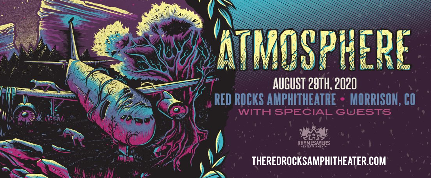 Atmosphere [CANCELLED] at Red Rocks Amphitheater